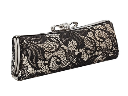 Picture of hollow clutch evening bags women shoulder diagonal packet chain bag