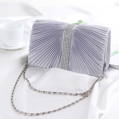 Picture of The new fold chain handbags clutch evening bags Shoulder Messenger foreign trade European and American fashion handbags