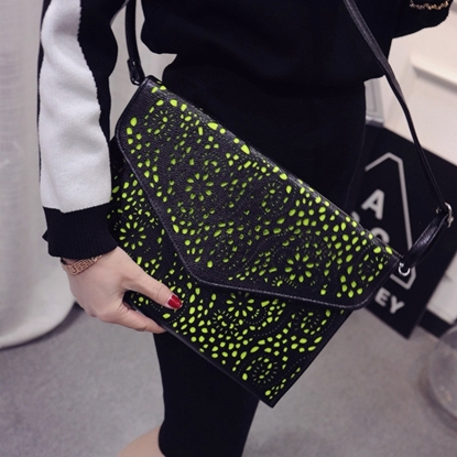 Picture of new summer fashion handbags envelope bag ladies hollow Crossbody Bag