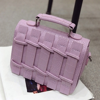 Picture of handbag bag piece small tide winter woven hand Satchel all-match shoulder bag