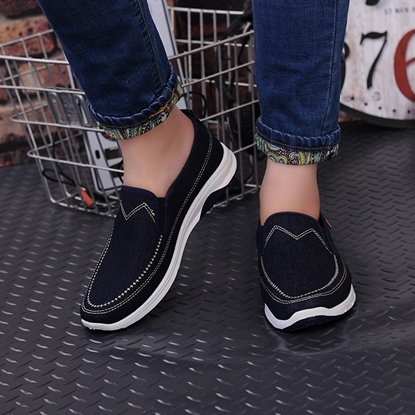 Picture of old Beijing men's shoes for a low fashion casual shoes men's shoes deodorizing tide