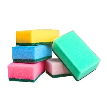 Picture of sponge scouring pads