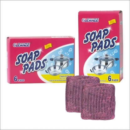 Picture of steel wool soap filled pads