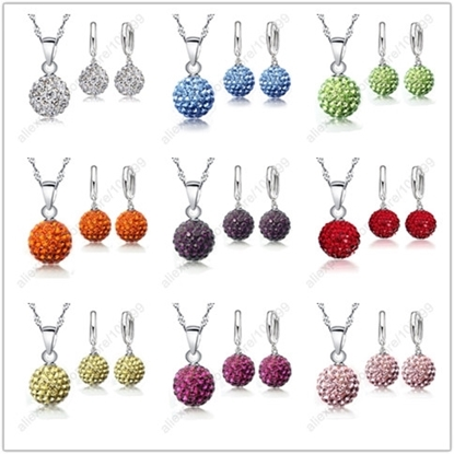 Picture of New Jewelry Sets 925 Sterling Silver Austrian Crystal