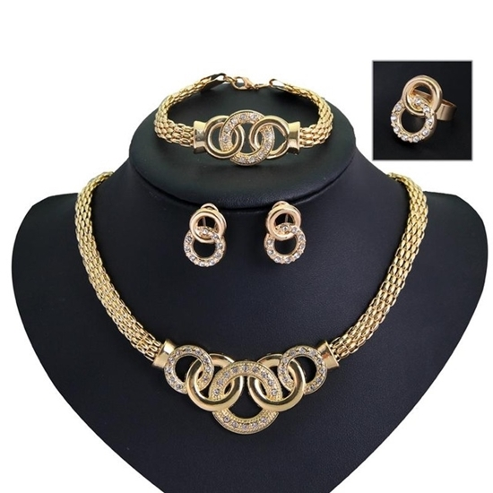Picture of Women Party Gold Plated Jewelry