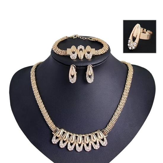 Picture of Fancy Waater Drop Necklace