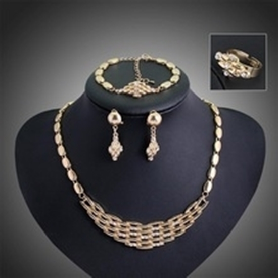 Picture of Basket Jewelry Set