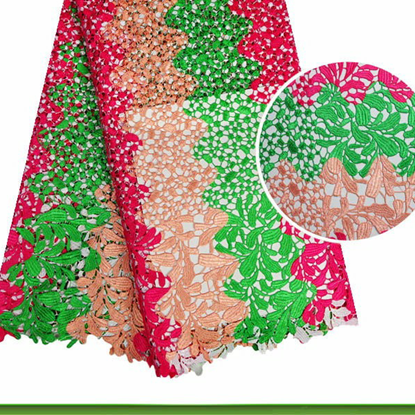 Picture of french lace fabric/ net lace for Nigeria party or wedding