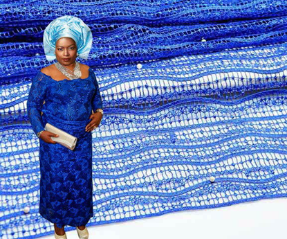 Picture of cord lace fabric /cord lace/african cord lace