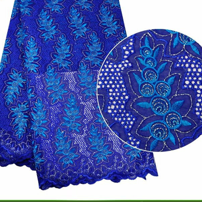 Picture of African Heavy Cotton Swiss Voile Lace Fabrics