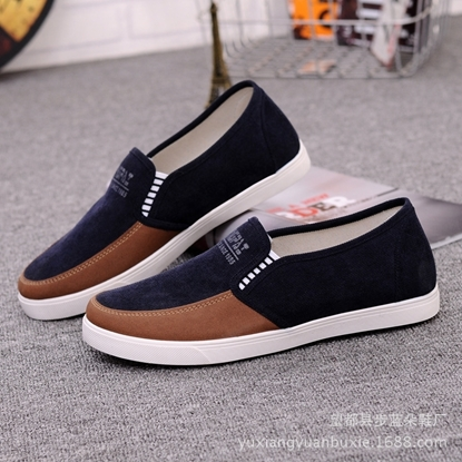 Picture of ashion leisure  breathable old  shoes middle-aged men's casual shoes