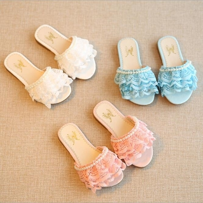 Picture of Colorful and Lovely Kid flat sandals for girls