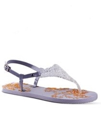 Picture of Fashion Net Sandal - Grey